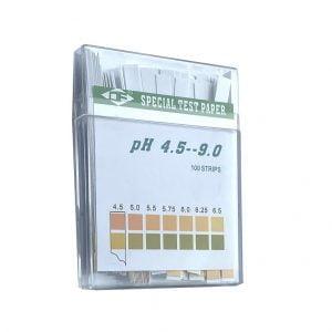 pH mittausliuskoja